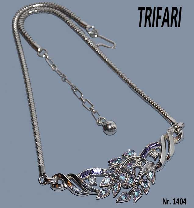 économiser jusqu'à 80% performance fiable mignonne Trifari, A. Philippe collier 1955-1960